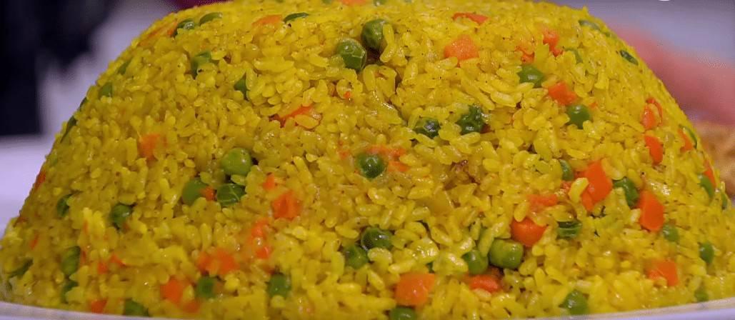 طريقة عمل أرز بالخضار في الفرن