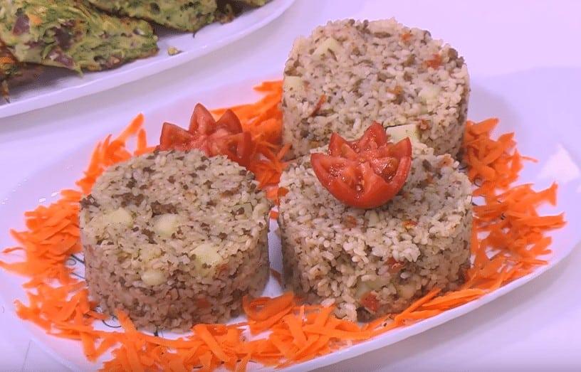 طريقة عمل أرز باللحمة المفرومة و البطاطس