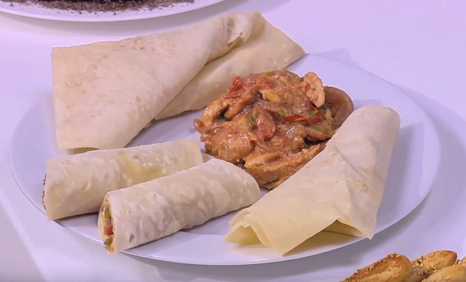 طريقة عمل شاورما دجاج علي الطريقة التركية