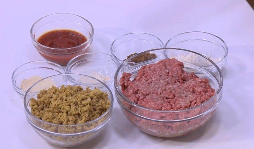 مقادير طريقة عمل البرجر بفول الصويا