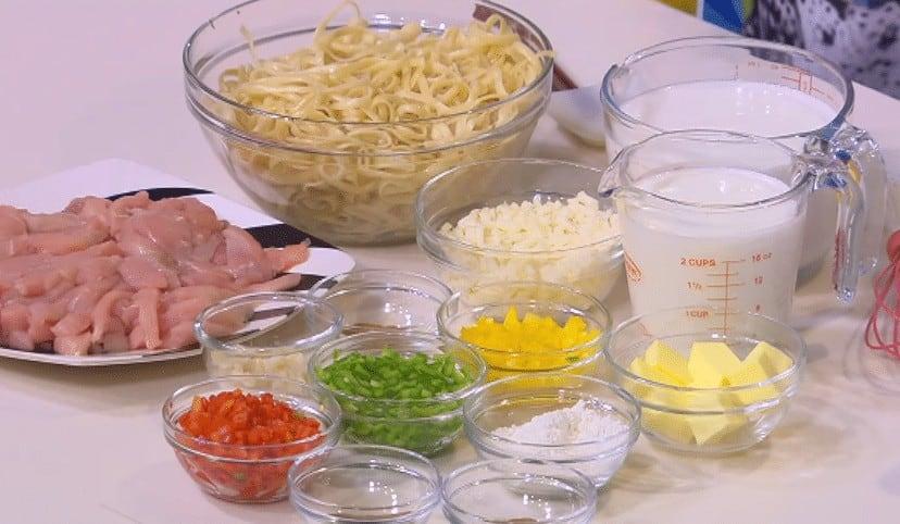 مقادير طريقة عمل نجرسكو الدجاج و الجبنه