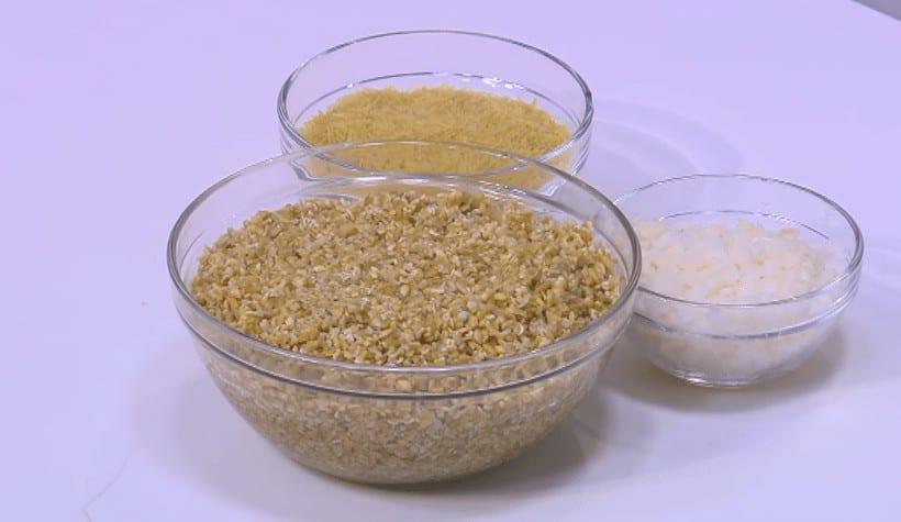 مقادير طريقة عمل فريك بالشعيرية و البصل