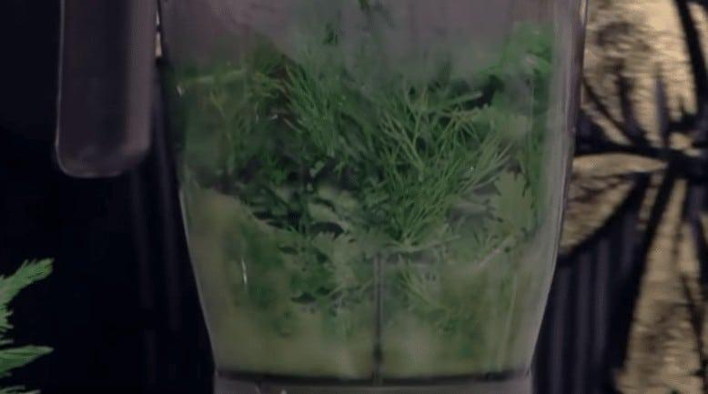 طريقة عمل بطاطس خضراء باللحمة و الخضرة