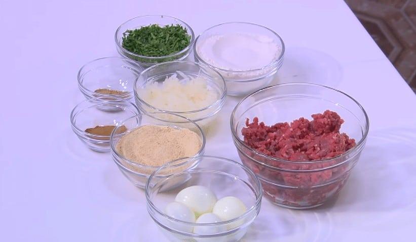 مقادير طريقة عمل البيض باللحمة المفرومة