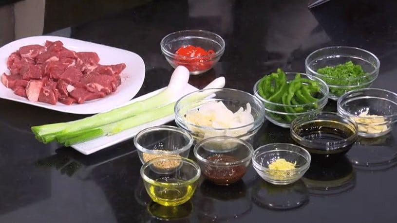 مقادير طريقة عمل لحم حار بالفلفل