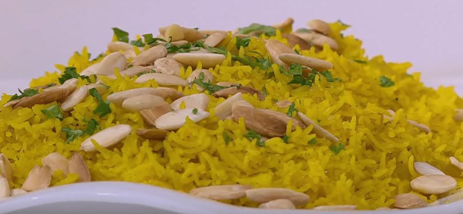 طريقة عمل أرز بسمتي بالمكسرات
