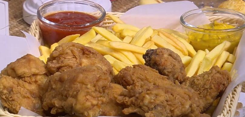 طريقة عمل دجاج مقرمش