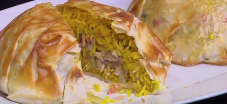 طريقة عمل شاورما و أرز بالجلاش