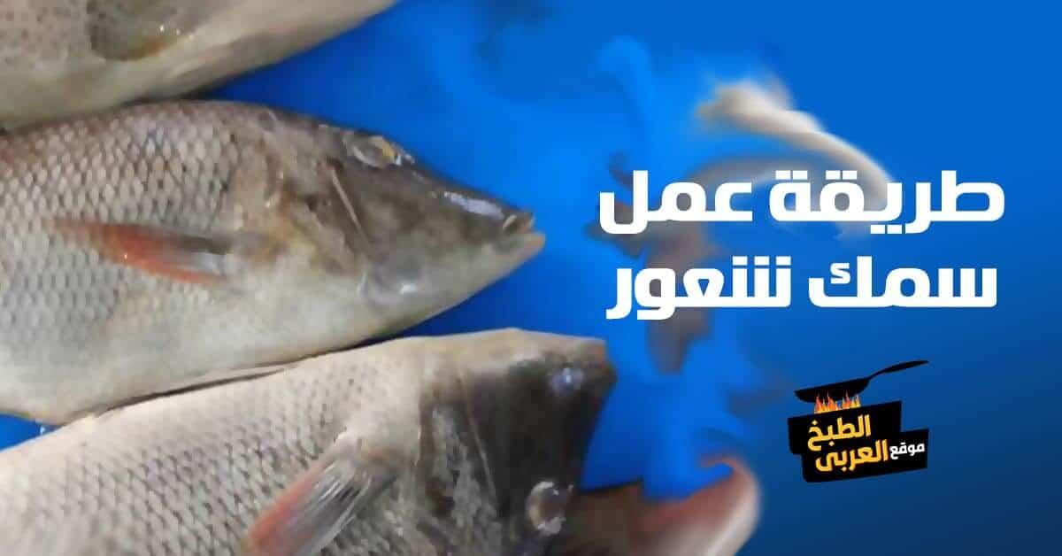 طريقة عمل سمك شعور